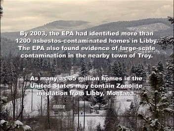 EPA Findings in Libby and Troy